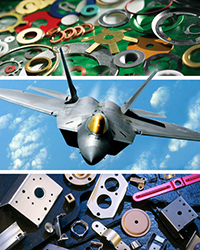 ustom Washers and Stampings for the Aerospace and Aircraft Industries