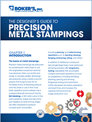 Here you can download Bokers Precision Metal Stamping Guide