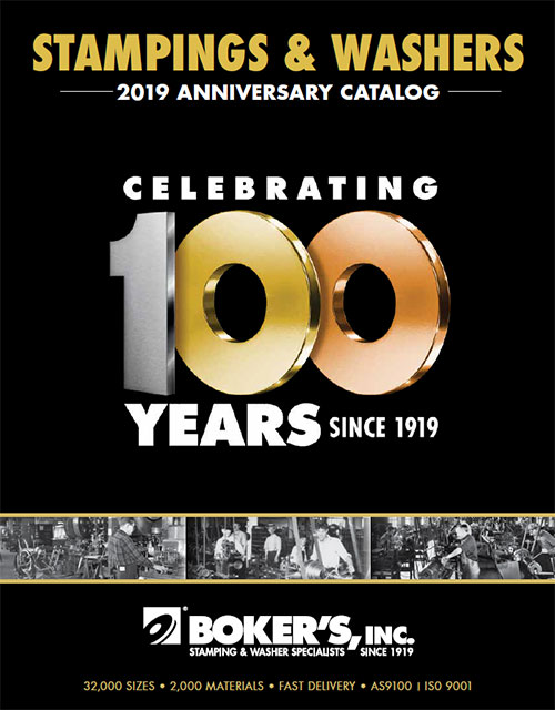 Boker's 2019 Stampings and Washers Catalog